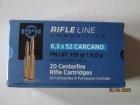 Cartouches PPU Cal 6.5x52 Carcano