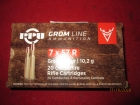 Cartouches PPU GROM Cal 7x57R (chasse)