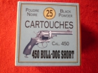 CARTOUCHES D2-Cal 450 Bull-Dog-Short