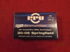 Cartouches  PPU  Cal 30-06 Springfield