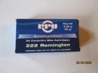 Cartouches PPU Cal 222 Rem