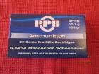 Cartouches PPU  Cal 6.5x54 Mannlicher Schoenauer