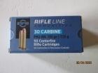 Cartouches PPU Cal 30 Carbine