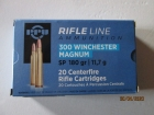 Cartouches PPU Cal 300 Winchester Magnum 180G